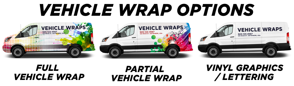 Miami Vehicle Wraps & Graphics vehicle wrap options